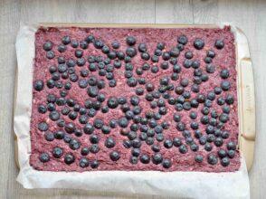 granolový koláč s borůvkami2
